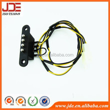 Complete 4-pin battery connector motorcycle wiring harness