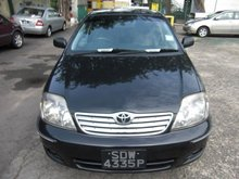 Toyota Corolla 1.5 NZE
