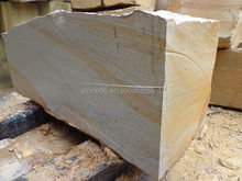 good quality building yellow sandstone , stone window frame