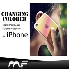Otao Magical color fancy diamond tempered glass screen protector with design for iPhone 6