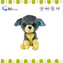 2016 BSCI audit new design two colors plush dog pug soft toy China