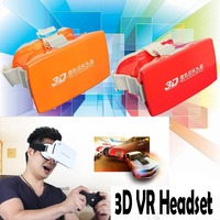 3D VR Complete Kit Virtual Reality Glasses Video Movie Game Glasses
