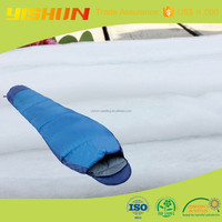 100% Eco-friendly Polyester nonwoven interlining wadding for sleeping bag