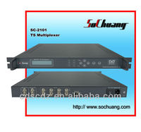 CATV TS Multiplexer/IP MUX (IP IN ASI OUT)