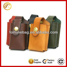 Genuine leather mobile phone case manufacturer for Nokia