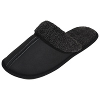 LUXEHOME Men's Slip On Indoor/Outdoor Fluff Footwear/Slipper