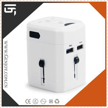 GENJOY usb travel adapter plug can charger adaptor and 1000mA usb output