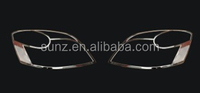 Head light cover chromed FOR Suzuki Wagon-r chrome front big lamp cover decorative led exterior car accessories