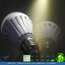 LED Smart bulb 9W 7W 5W led emergency light battery charge led lighting E27 Lamp for home indoor AC110V 220V