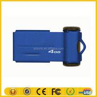 Alibaba china customized logo wearable usb flash drive for free sample