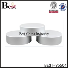 silver aluminum cap with cut line, aluminum cap for cosmetic jar