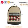 popular style canvas korean cute canvas backpacks
