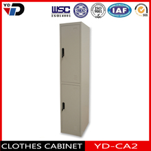 Hight quality 2 tier steel locker with hanging