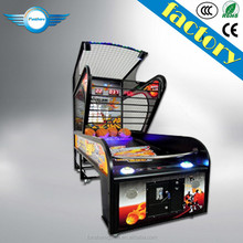Luxury Amusement Center Hoop Fever Basketball Game For Sale