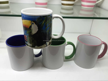 MS019 High Quality promotion gift ceramic mug can sublimation heat transfer with logo or brand