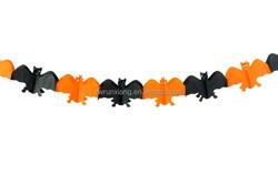 Hanging paper bat for Halloween decoration