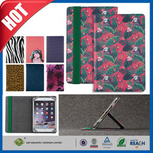 C&T OEM Design Floral Pattern Flip Stand Leather Case Cover For iPad Mini, For iPad Case