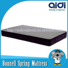 Double Side Queen Size Natural Latex Polyester fiber Bonnell Spring Wedding Mattress
