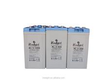 batteries for solar system 10KW GEL battery 2v 1000ah