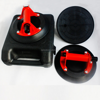 """9'' ABS pump handle glass suction cup/9"""" vacuum glass lifter / pump suction cup glass lifter"""