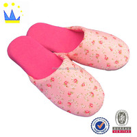 cheap close-toe women slippers own design women indoor slipper