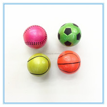 wholesale rubber material 1 inch Vending machine toy ball