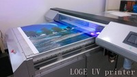 130cm X 300cm multicolor digital two printhead uv printer tile printing machine