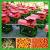 Portable corn shelling and threshing machine