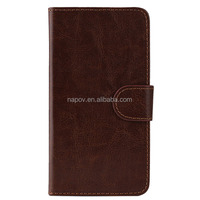 Left & Right Flip Leather Cover Case for Samsung Galaxy Trend With Card Solt