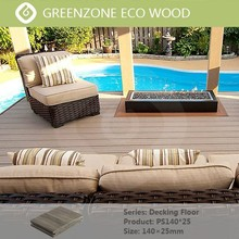 high quality environmental friendly around the swimming pool outdoor and indoor wpc decking waterproof wood panels