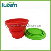 silicone rubber folding bucket