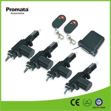 Top quality car alarm with remote central lock actuator one master and 3 slaves