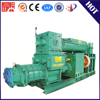 Hot sale mud vacuum extruder bamboo pallet block making machine in clay brick production line