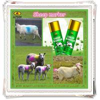 Autokem 400ml hot sale sheep marker, goat/ram/lamb marker paint, inverted livestock/animal marking spray paint