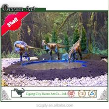 China life-size simulation realistic dinosaur model