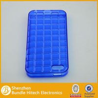 new trendy cell phone TPU case for apple iphone 5 blue color