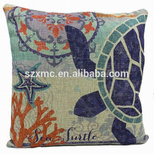 Jacquard Cotton Fabric Ocean Theme Bed Pillows Guangdong