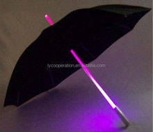 LED Light up Lightsaber Style Umbrella