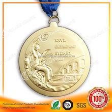 High Relief 2015 world karate confederation european championships medallion