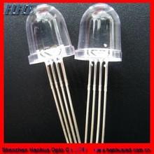 High Brighness 10mm 8mm 5mm Round RGB Flashing LED