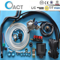 gas system kit lpg/automobile manufacturers parts /lpg conversion kit for cars