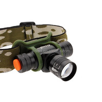 Zoomable 200Lm Q5 LED Bicycle Light Lamp HeadLight HeadLamp Flashlight Torch For Camping Traveling Riding