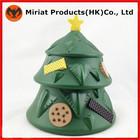 Mini plástico decoração da árvore de natal para a promoção