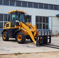Factory supply MP100 1ton compact mini wheel loader with CE