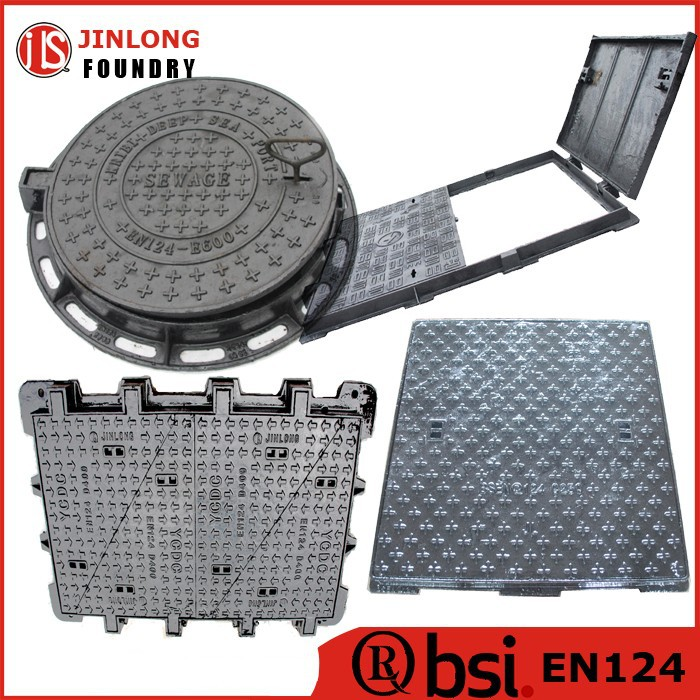 Hinged Manhole Covers : Hinged manhole cover with locking system buy