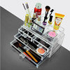Factory direct price wholesale acrylic makeup organizer with drawers
