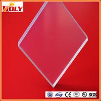 2mm plastic pc board/lexan/bayer/teijin sheet drop embossed polycarbonate