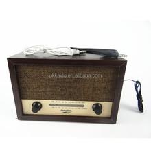 Portable radio okkaido Wooden style custom retro/antique/vintage radio for sale