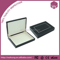 Fancy Black Plastic Gift Box Package/Packaging Box For Jewelry Gift Wholesale