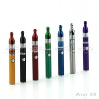 Top quality mini x9 vaporizer cheapest sales,ecig mini x9 electronic cigarette free sample free shipping